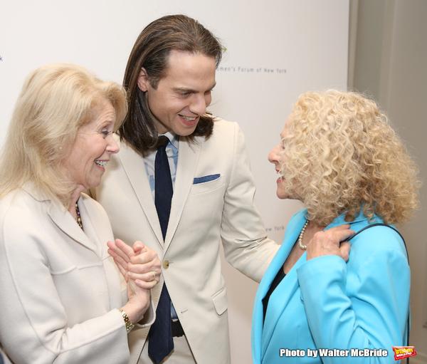 Daryl Roth, Jordan Roth and Carole King