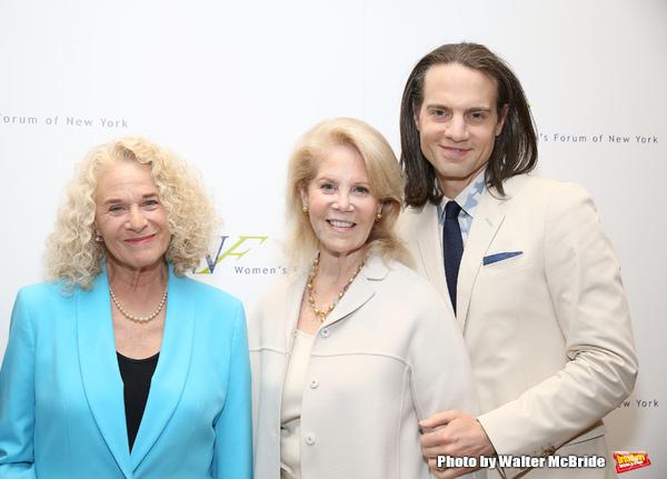 Carole King, Daryl Roth and Jordan Roth
