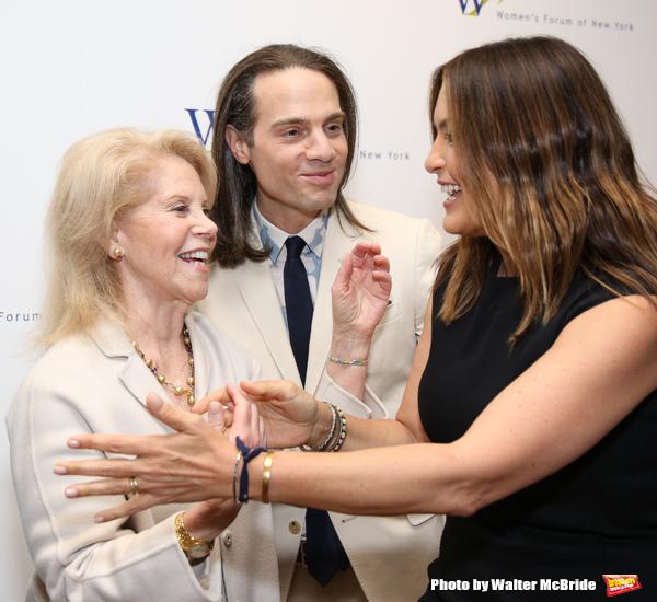 Daryl Roth, Jordan Roth and Mariska Hargitay
