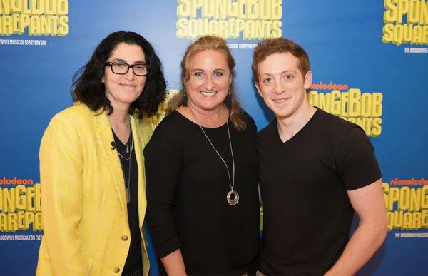 Tina Landau, Cyma Zarghami, Ethan Slater Photo