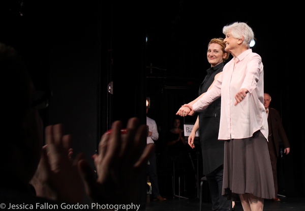 Francesca Faridany and Angela Lansbury