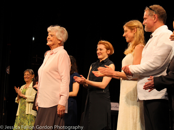 Photo Coverage: Angela Lansbury & Cast Take Bows in Acting Company's THE CHALK GARDEN