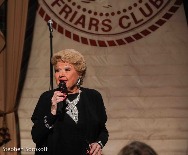 Photos: Marilyn Maye Kicks It Up At The Friars Club Metropolitan Room Show