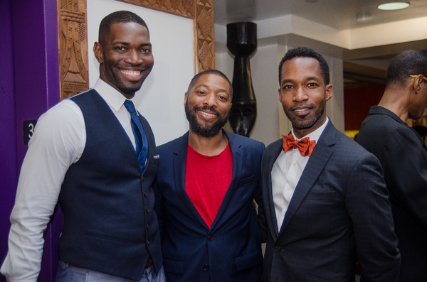 Tarell Alvin McCraney with Kyle Abraham and Betram Johnson
