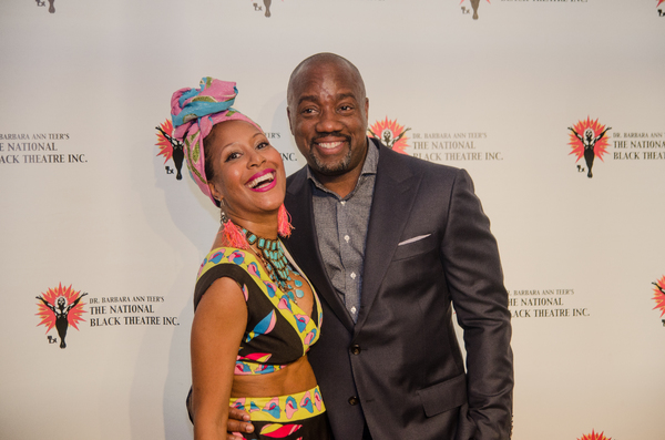Sade Lythcott and Malik Yoba Photo