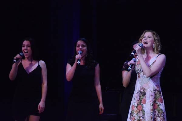 Christiane Noll, Chelsae Wheatley and Samantha Owe