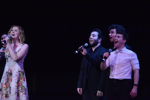 Christiane Noll with Pedro Coppeti, Matt Weinstein and Ashton Michael Corey