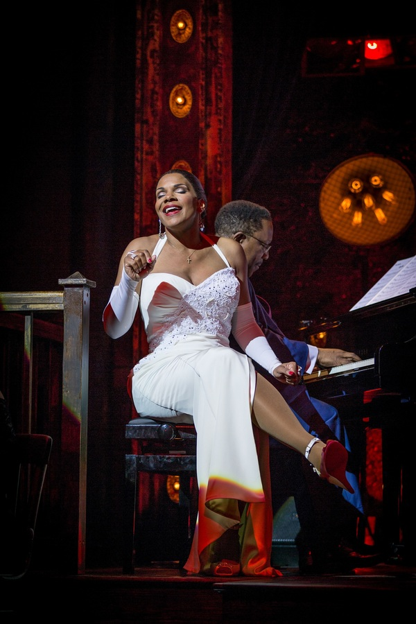 Audra McDonald and Shelton Becton