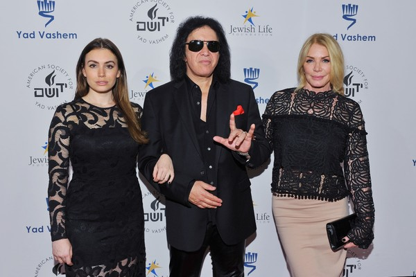 Sophie Simmons, Gene Simmons and Shannon Tweed