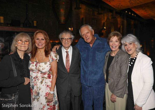 Margery Gray Harnick,Marolo Thomas, Sheldon Harnick, Grover Dale, Jamie deRoy Photo