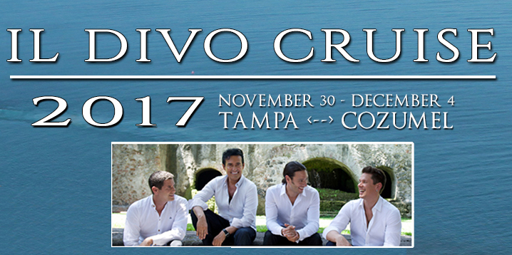 BWW Interview: Il Divo's David Miller Gets Ready to Hit High Notes on the High Seas
