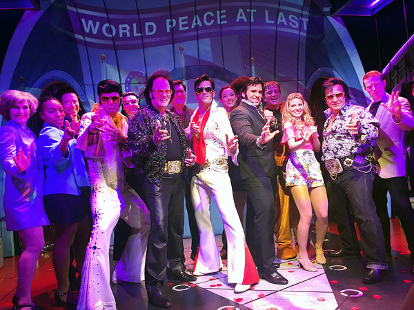 Photo Flash: The King Was in the House at ATTACK OF THE ELVIS IMPERSONATORS