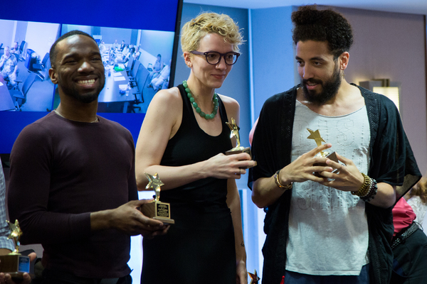Photo Coverage: GREAT COMET Receives Actors' Equity Association's ACCA Award
