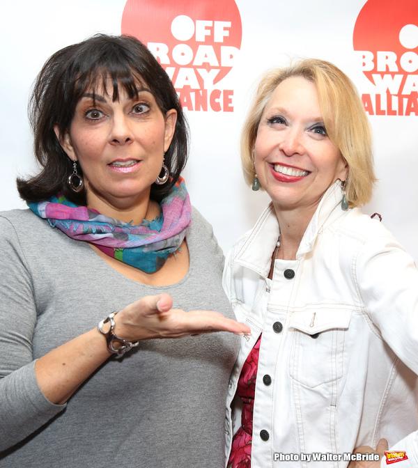 Christine Pedi and Julie Halston