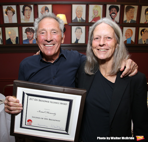 Israel Horovitz and Gillian Horovitz