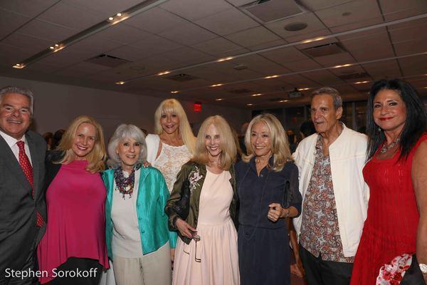 Richard Soloway, Karen King, Jamie deRoy,  Sunny Sessa, guest, Eda Sorokoff, Joey Reynolds, Donna Soloway