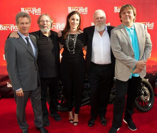 David Sonenberg, Michael Cohl, Cressida Pollock, Tony Smith & Randy Lennox  Photo