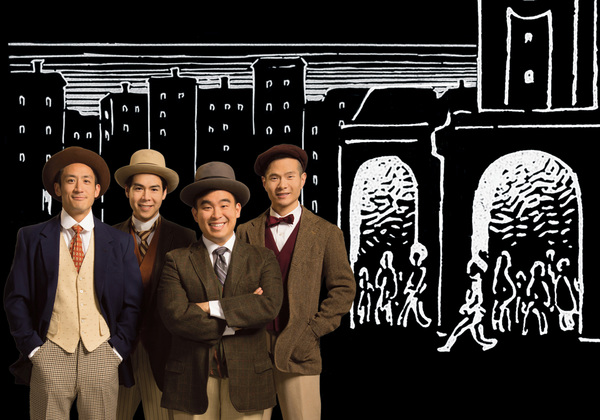 Photo Flash: First Look at TheatreWorks Silicon Valley's World Premiere of THE FOUR IMMIGRANTS