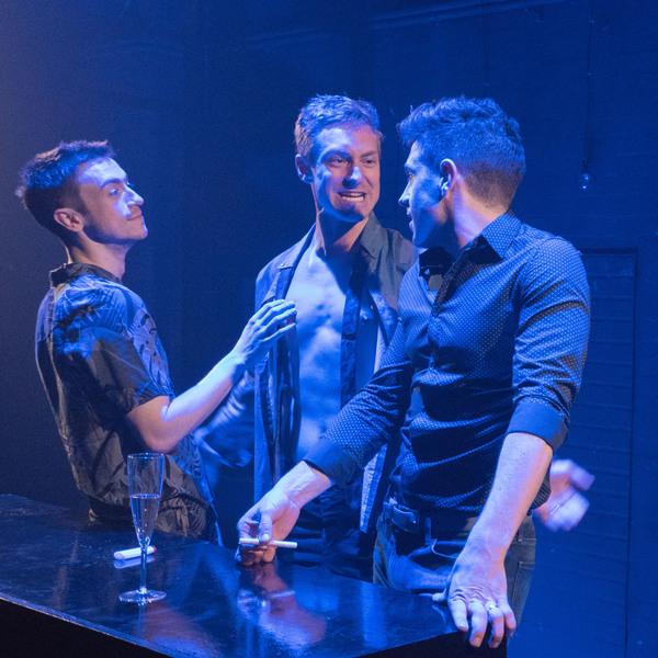 Patrick Reilly, Brandon Haagenson and Robbie Simpson
