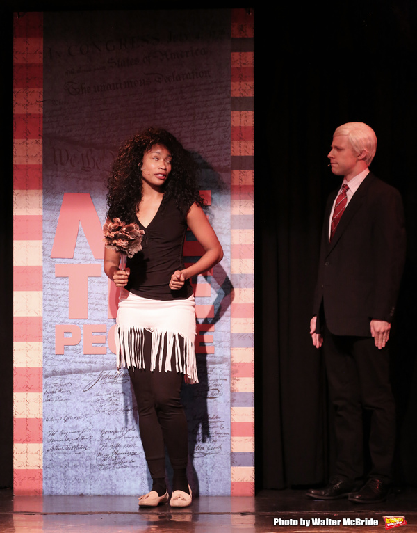 Photo Coverage: Go Inside Rehearsal for ME THE PEOPLE: THE TRUMP AMERICA MUSICAL