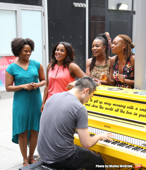 The cast of 'Beautiful - The Carole King Musical'