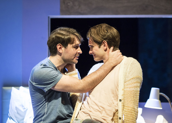 James McArdle and Andrew Garfield