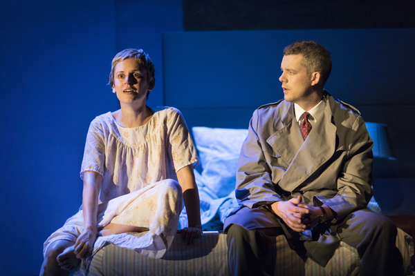 Denise Gough and Russell Tovey