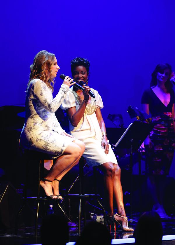 Jessie Mueller and Heather Headley