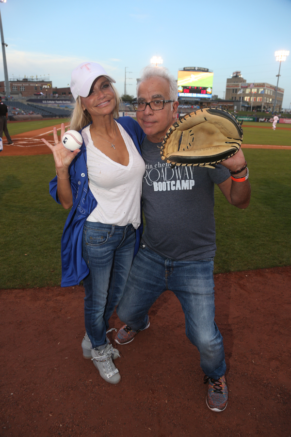 Kristin Chenoweth and Richard Jay-Alexander