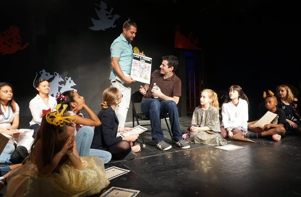 Photo Flash: Playwright Jonathan Rand Visits Actors Connection's LAW & ORDER: NRU at 777 Theater