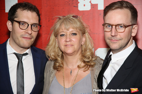 Robert Icke, Sonia Friedman and Duncan Macmillan
