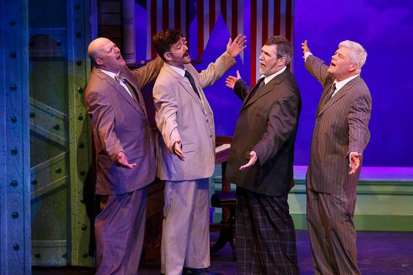 Jamie Jones, Chad Putka, Mike Maino, and Bob O'Connell