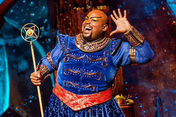 Photos and Video: Meet ALADDIN's New Stars - Telly Leung and Major Attaway!