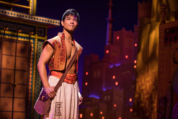 Telly Leung as Aladdin. Photo Credit: Matthew Murphy