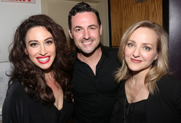 Leslie Margherita, Max Von Essen, and Geneva Carr