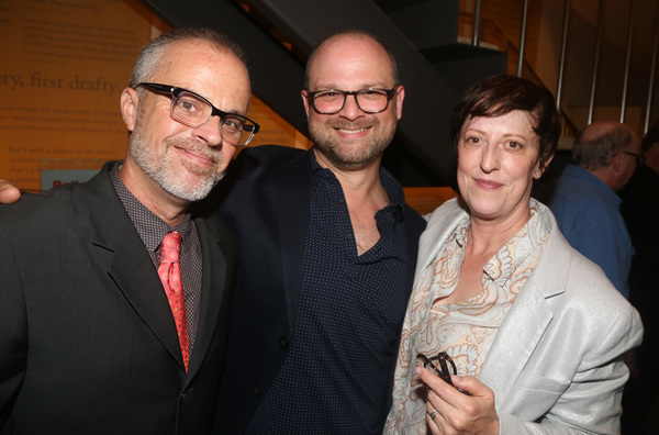 Peter Michael Marino, Carl Andress, and Sheila Head Photo