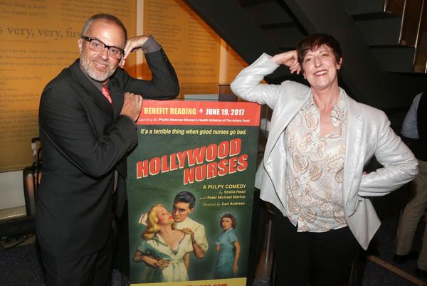 Peter Michael Marino and Sheila Head