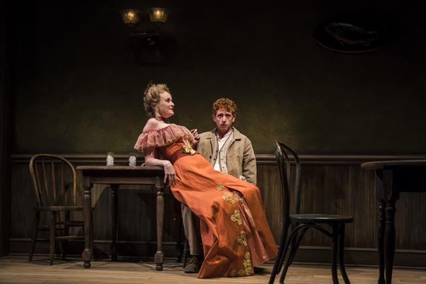 Niall Cunningham (Richard Miller) and Amanda Drinkall (Belle) in Eugene O'Neill's Ah, Wilderness!