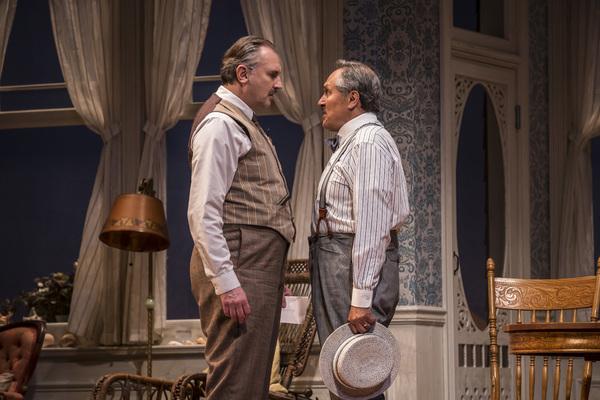 Randall Newsome (Nat Miller) and Ricardo Gutierrez (David McComber) in Eugene O'Neill's Ah, Wilderness!