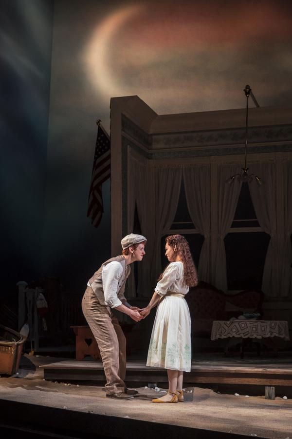 Niall Cunningham (Richard Miller) and Ayssette Muñoz (Muriel McComber) in Eugene O Photo
