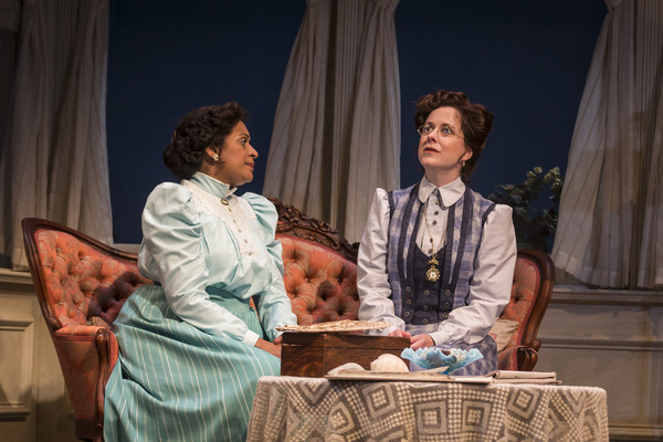 Ora Jones (Essie Miller) and Kate Fry (Lily Miller) in Eugene O'Neill's Ah, Wilderness!