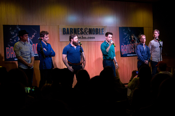 Geoff Packard, Joe Carroll, Brandon James Ellis, Corey Cott, Alex Bender, James Natha Photo