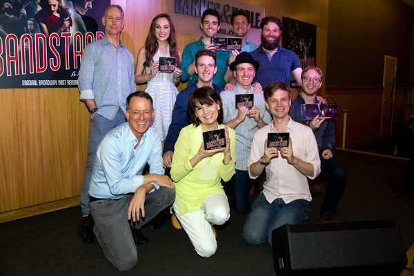 Richard Oberacker, Robert Taylor, Laura Osnes, Beth Leavel, Joe Carroll, Corey Cott, Geoff Packard, Greg Anthony Rassen, Brandon James Ellis, James Nathan Hopkins, Alex Bender