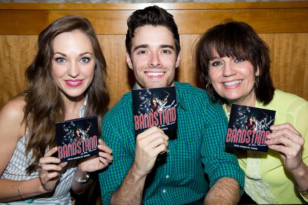 Laura Osnes, Corey Cott, Beth Leavel
