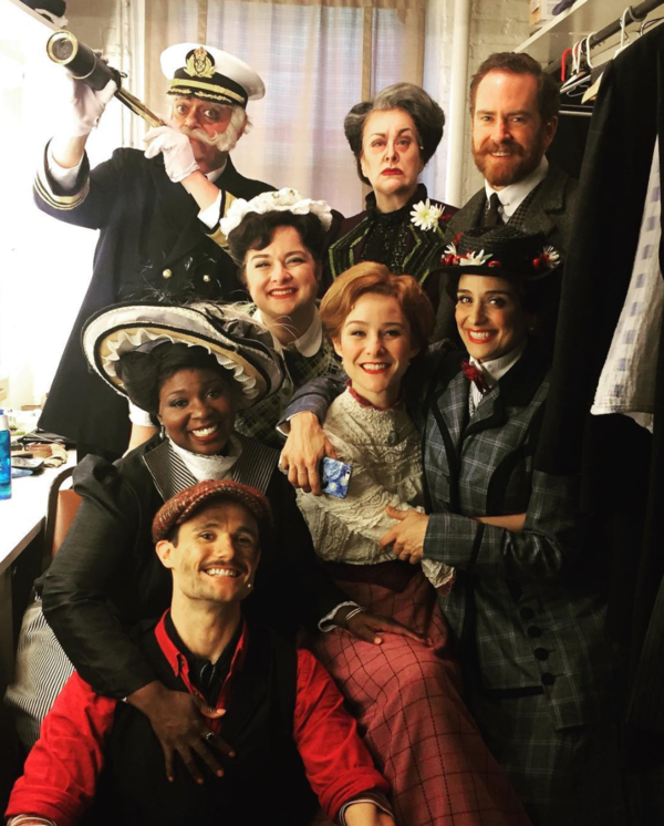 Mary Poppins (Paper Mill Playhouse) @missjillysue Our final #sip @papermillplayhouse. What a lovely little dream it has been ! @officialbroadwayworld