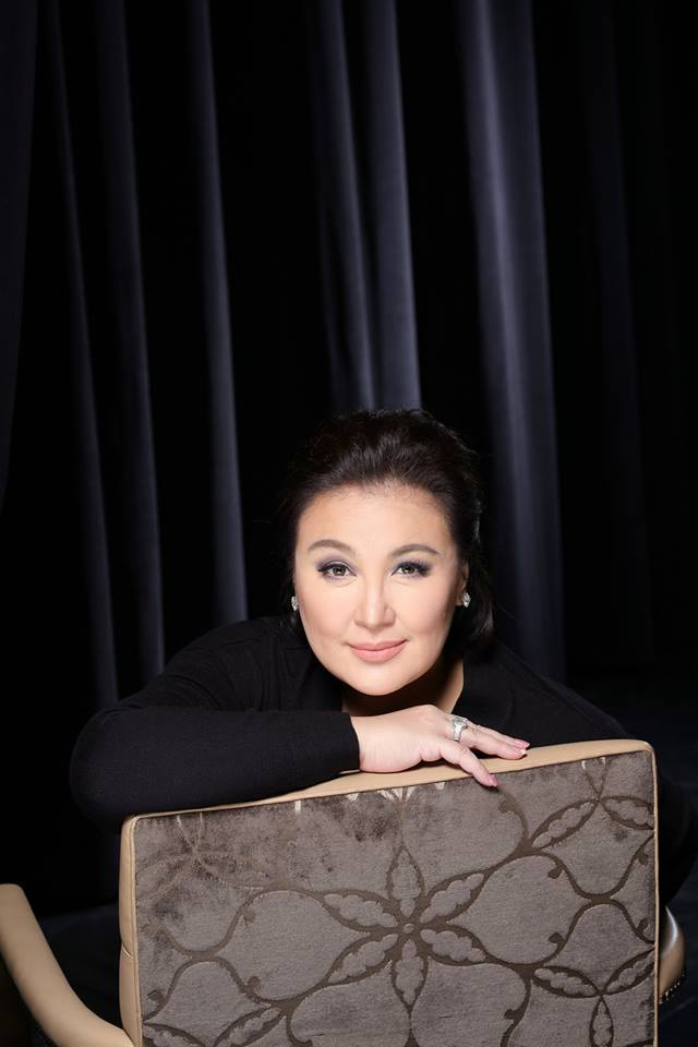 The Philippines' Megastar Sharon Cuneta Holds One-Night-Only Concert at Queens College, 7/8