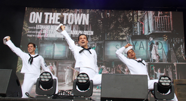 Photo Flash: ALADDIN and ON THE TOWN Take On West End Live