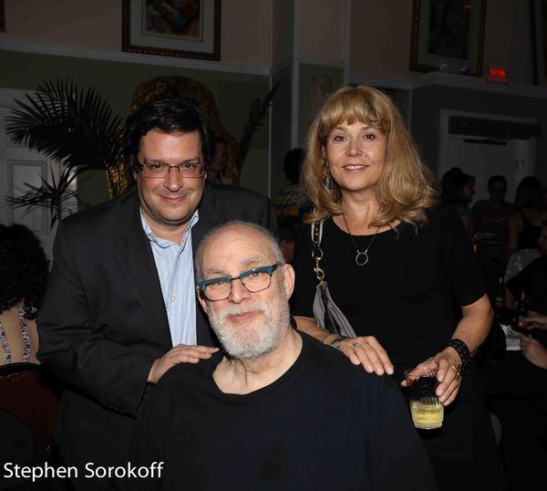 Joe Calarco, William Finn, Elizabeth Aspenlieder
