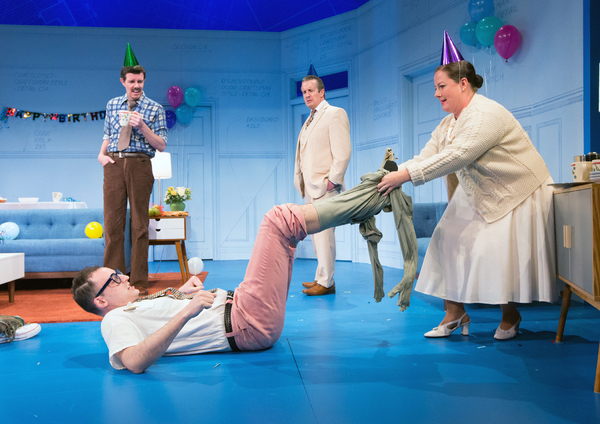 Photo Flash: First Look at THE NERD at Bucks County Playhouse
