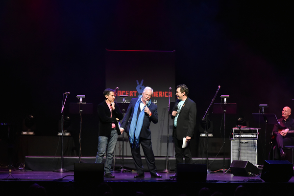 Seth Rudetsky, Armistead Maupin and James Wesley